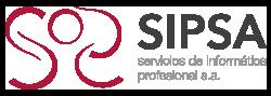 SIPSA Servicios de Informática Profesional Logo