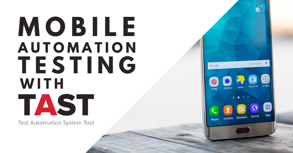 Mobile Automation Testing con TAST