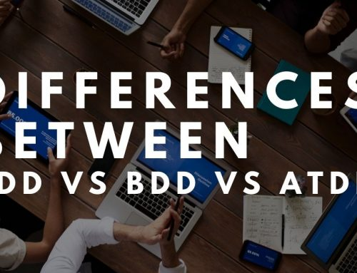 Differences between TDD VS BDD VS ATDD