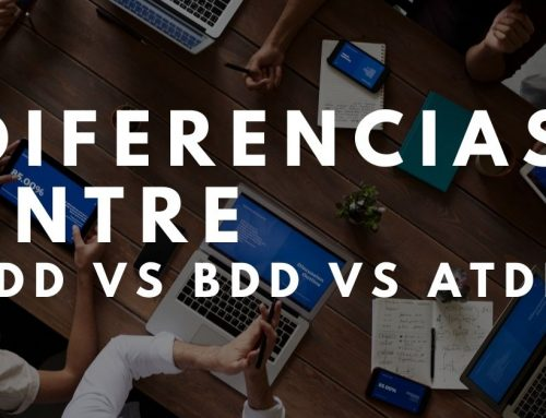 Diferencias entre TDD VS BDD VS ATDD